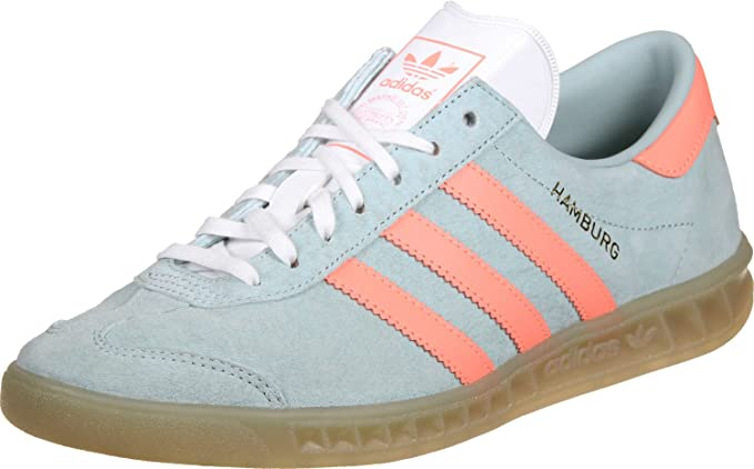conducir colección Sequía  Adidas Hamburg W-Grey-36: Amazon.co.uk: Clothing