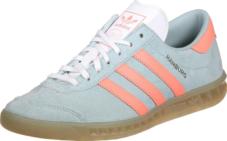 Buy adidas Originals Women's Hamburg W Tacgrn, Sunglo and Gum4 ...