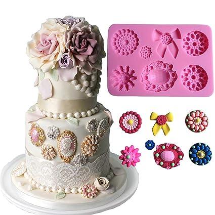 Amazon Com Anyana Wedding Jewel Brooch Baking Molds Cabochon