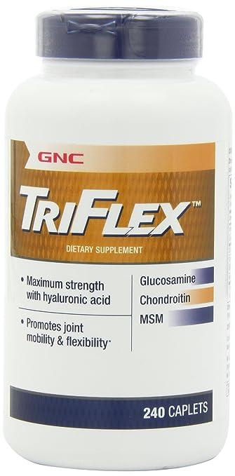 GNC Triflex-glucosamine Chondroitin MSM 240 Caplets X 2 Bottles of 120 Caps