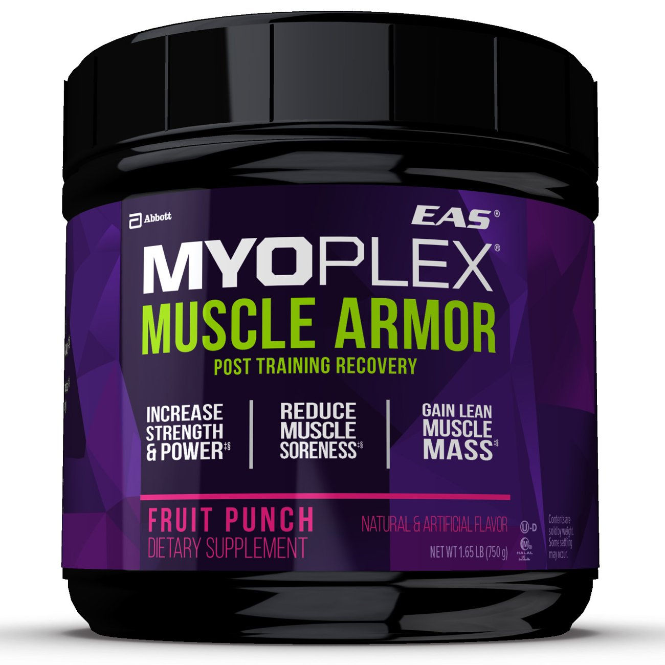 EAS Myoplex Muscle Armor Powder, Fruit Punch, 1.65 Pound