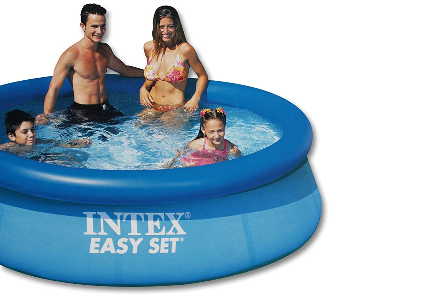 INTEX EASY Pool Set 244 x 76 cm Swimmingpool Schwimmbecken P