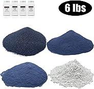 SACKORANGE 6 Pounds Rock Tumbler Refill Grit Media Kit, Abrasive Tumbling Kit for Stone Polisher - Compatible with Any Brand