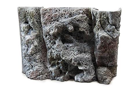 Aqua Maniac Limestone 3d - Fondo para acuario, polirresina (no espuma), 8