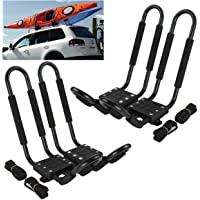 $54 » Car Rack & Carriers© Universal 2 Pairs J- shape Rack HD Kayak Carrier Canoe Boat. Surf Ski Roof…