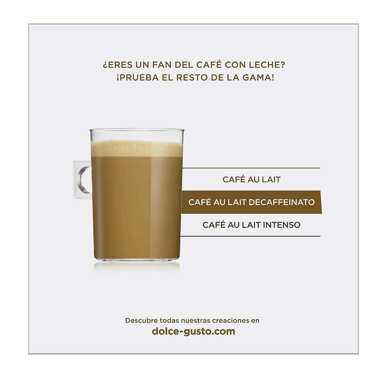 NESCAFÉ Dolce Gusto Café con leche descafeinado | Pack de 16 Cápsulas: Amazon.es: Amazon Pantry