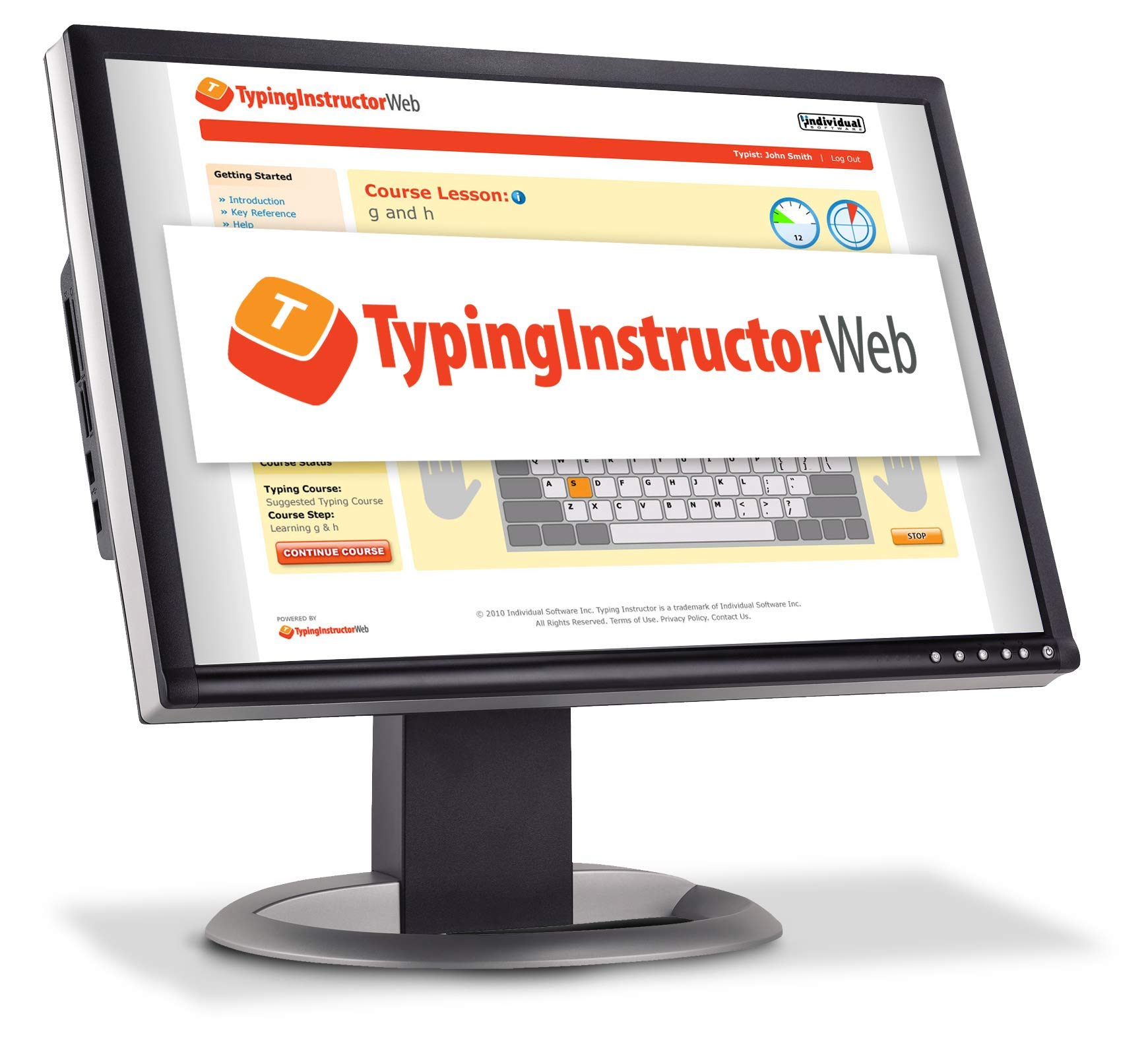 Typing Instructor Web - Annual Subscription [Online Code] by Individual Software
