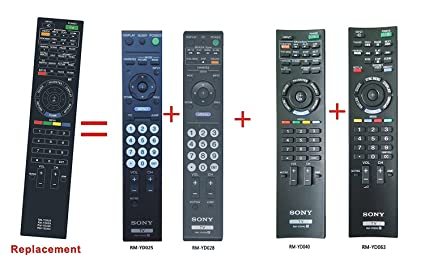 amazon com new bravia lcd tv replaced remote for sony rm yd035 rm rh amazon com Sony BRAVIA ManualDownload Sony BRAVIA ManualDownload