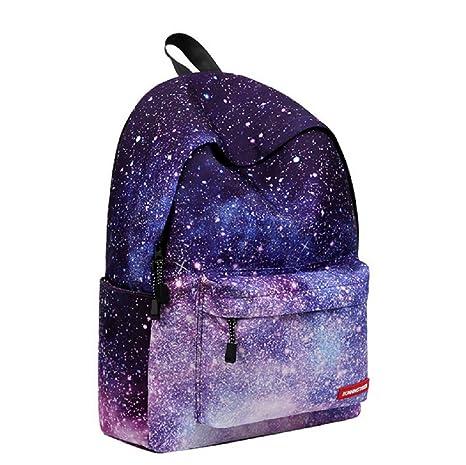 venta caliente online e532e a322c La mochila de la escuela del espacio de la galaxia, bolso ...