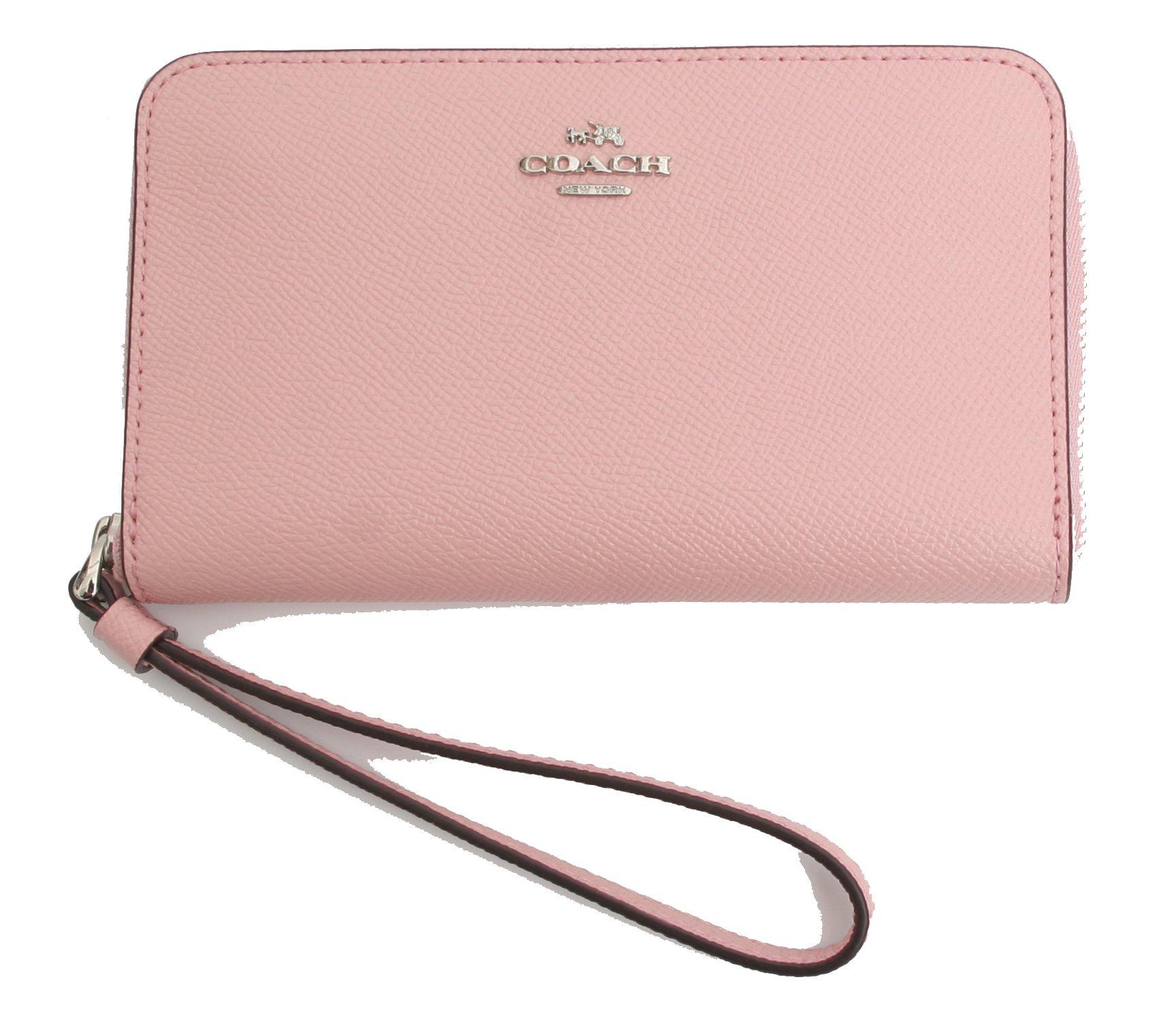 Coach Crossgrain Leather Phone Wallet Wristlet by Coach