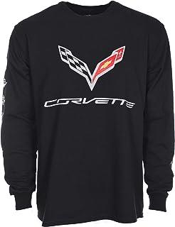 XX-Large C7 Corvette Stingray Logo Long Sleeve T-Shirt Gray