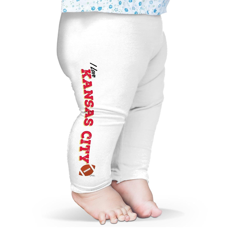 TWISTED ENVY I Love Kansas City American Football Baby Funny Leggings Trousers