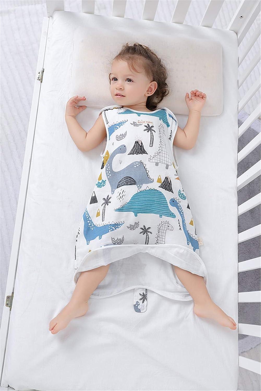 Bauernhof 60//Baby Hoehe 55-65cm Chilsuessy Baby Sommer Schlafsack mit Beinen Neugeboren Sommerschlafsack Babyschlafsack fuer den Sommer Schlafanzug Kinder Strampler