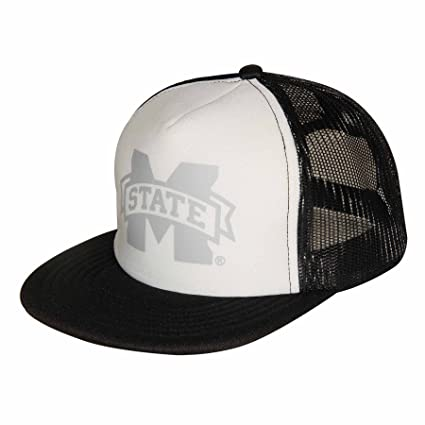 125aea4fdbe26 Image Unavailable. Image not available for. Color  NCAA Mississippi State  Bulldogs Adult Unisex Foam Front Mesh Back Trucker Cap Adjustable Size
