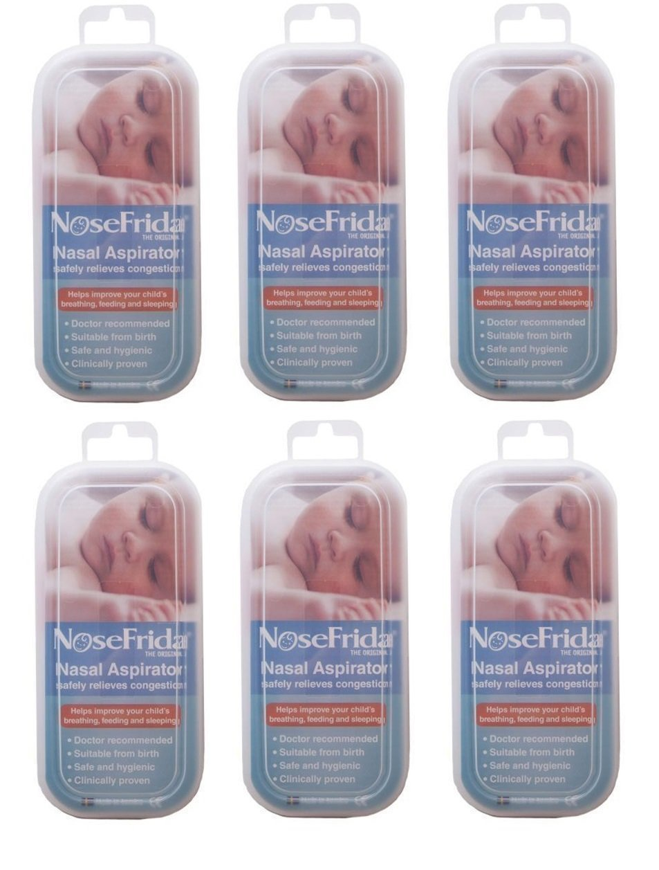 Nosefrida Nasal Aspirator - 6 Pack