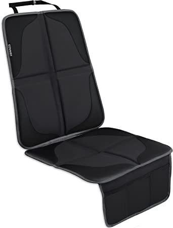Kewago Premium Kindersitzunterlage Autositzauflage Autositzschoner Für Isofix Der Beste Schutz Für Den Autositz Universeller Sitzschoner Z B Für Kindersitz Babyschale Als Sitzunterlage Baby