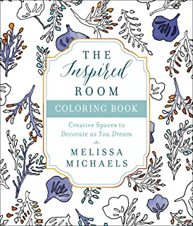 The Inspired Room Coloring Book Creative Spaces To Decorate As You Dream