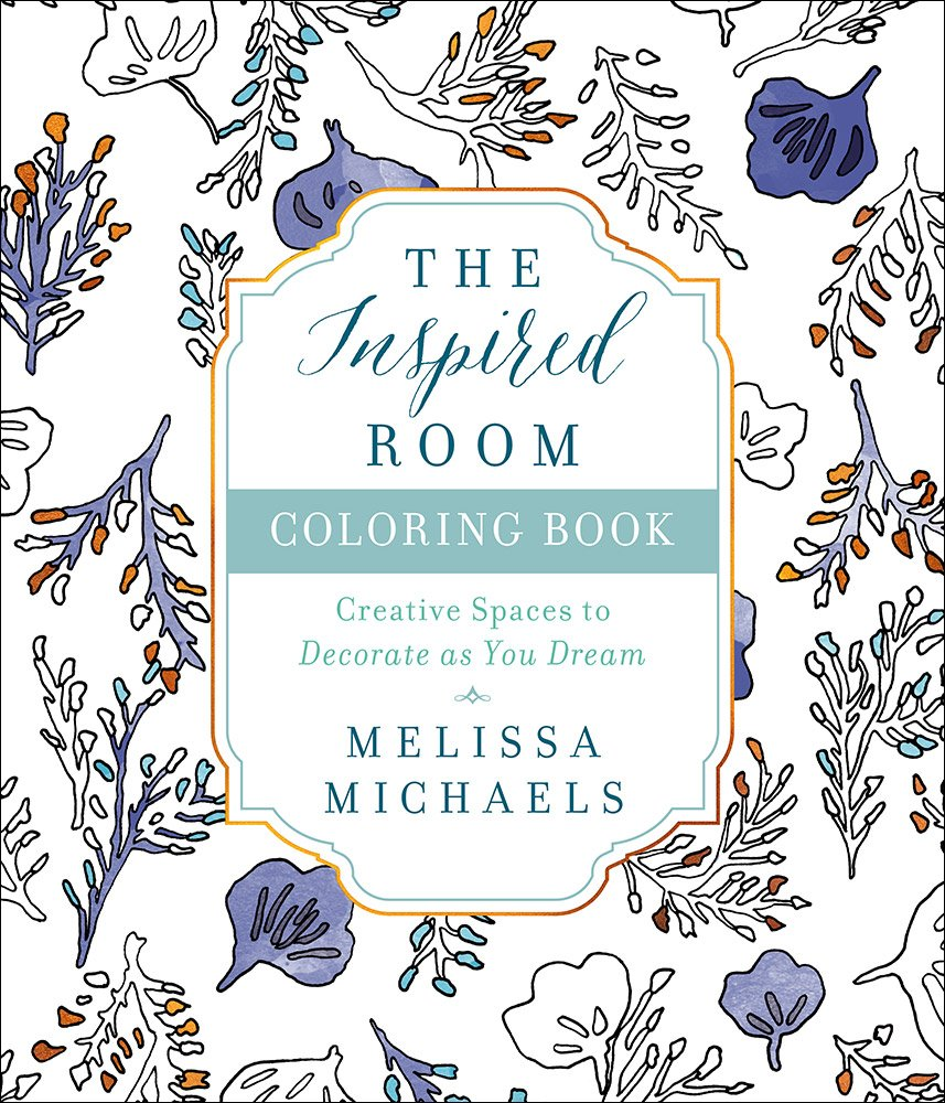 Amazon.com: The Inspired Room Coloring Book: Creative Spaces to ...