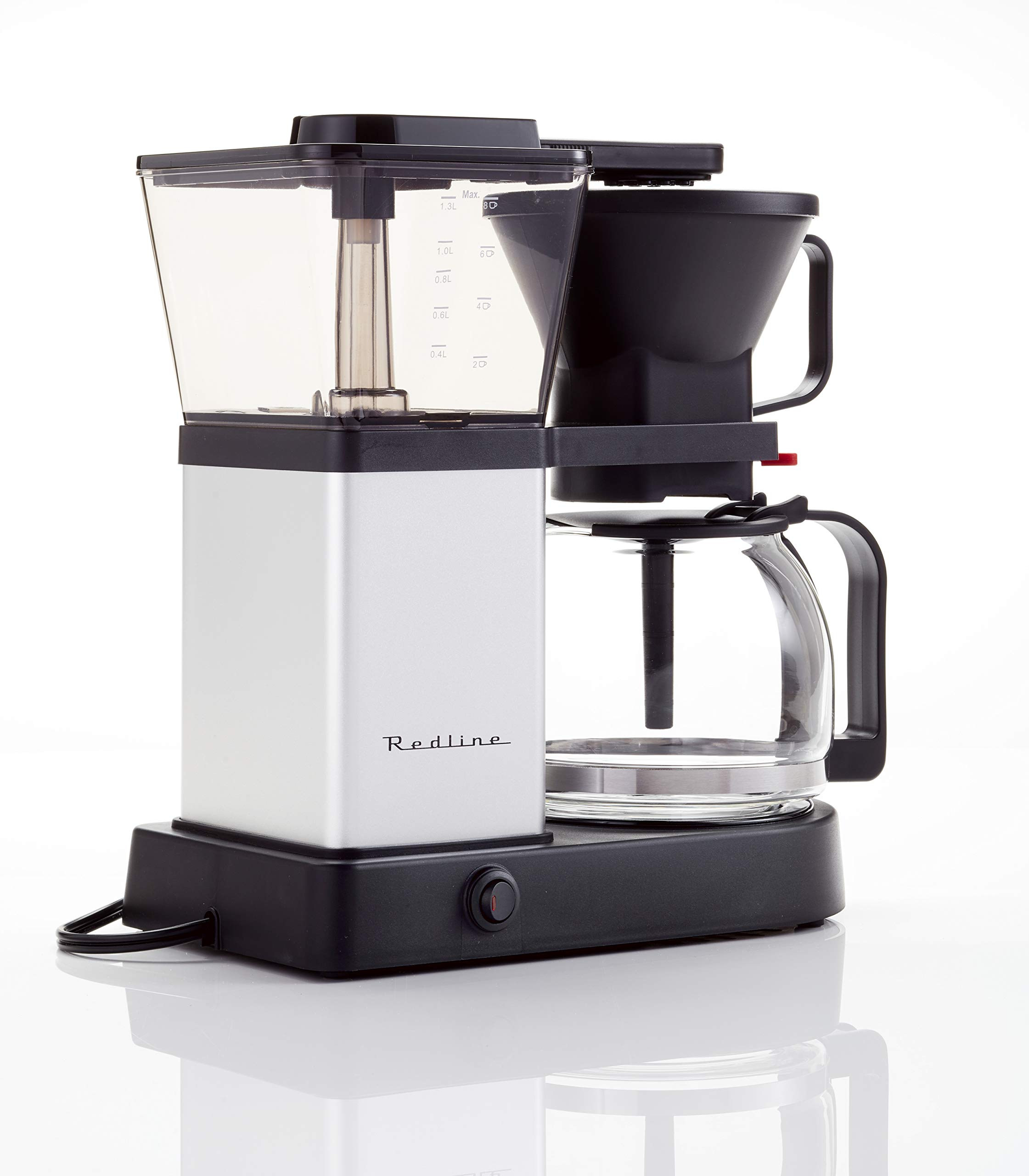 Redline MK1 8 Cup Coffee Brewer with Glass Carafe, Hot Plate and Pre-Infusion Mode (Summer 2018 Refresh) by Redline Coffee (Image #3)