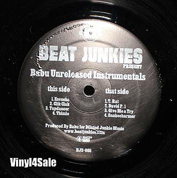 Resultado de imagen para DJ Babu - Unreleased Instrumentals