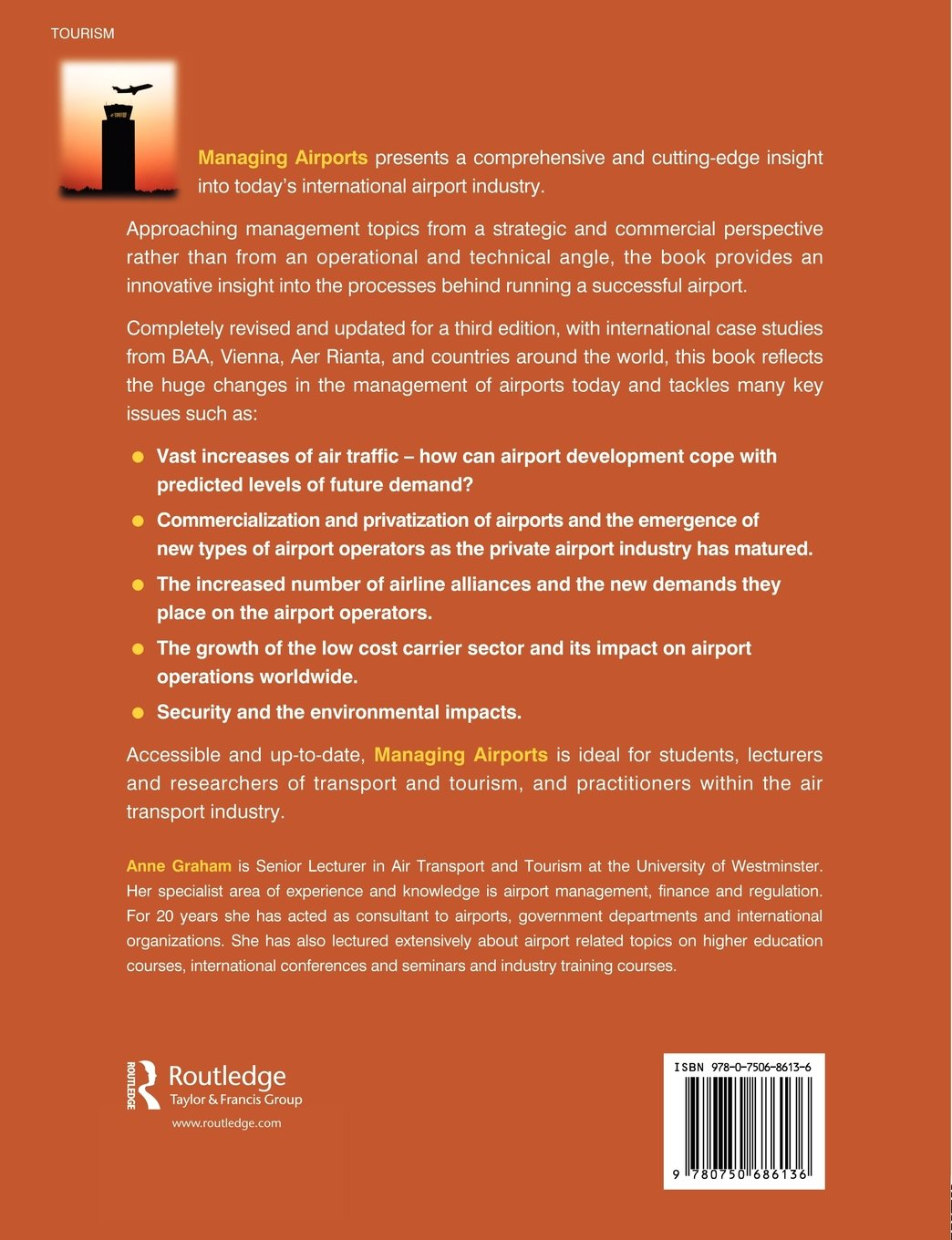 Managing Airports, Third Edition: An International Perspective:  Amazon.co.uk: Anne Graham: Books
