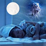 Moon Lamp Super Large, GDPETS Moon Light Moon Night Light 16 Color 3D Printing Moon Light Lamp with Stand&Remote&Touch Control Party Gift for Baby Kids Love Friends