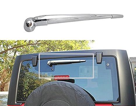 bolaxin trasero ventana parabrisas limpiaparabrisas de coche para 2007 – 2017 Jeep Wrangler JK
