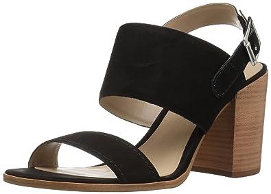 0b3175ea684 STEVEN by Steve Madden Women s Jaxin Dress Sandal Black Nubuck 7.5 ...