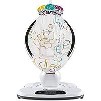 4moms Babywippe mamaRoo 4 Babyschaukel elektrisch mit Musik automatische Schaukelwippe mit Spielbogen, mehrfarbig
