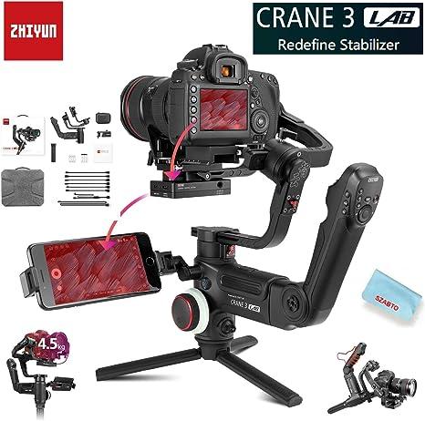Zhiyun Crane 3 Lab 3-Axis Handheld Stabilizer Gimbal for ...