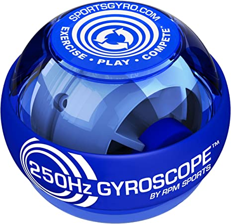 Powerball 250Hz Gyroscope - Grip, Wrist and Forearm Strengthener for Sports  and Rehabilitation (Classic): Amazon.co.uk: Sports & Outdoors