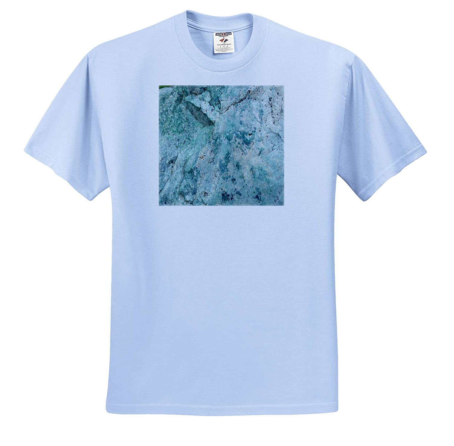 Gems Glass Stones ts/_313420 Adult T-Shirt XL 3dRose Lens Art by Florene Image of Closeup of Pretty Jadeite Gem