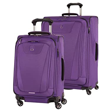 Travelpro Maxlite 4 2 Piece set: Expandable 29  and 21  Spinners (Purple, One Size)