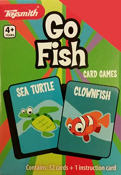 Amazon Com Go Fish Playing Cards By Toysmith Toys Games