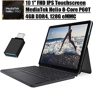 2020 Latest Lenovo Chromebook Duet 2 in 1 Tablet I 10 1