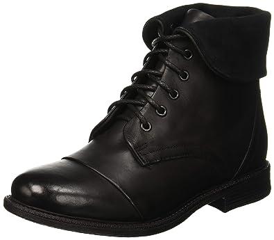 BATA 5946281, Stivali da Combattimento Donna, (Nero 6), 40