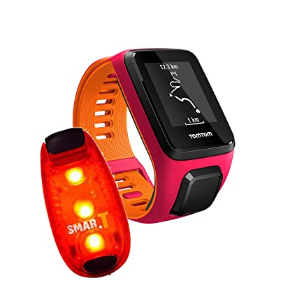 Pulso Reloj TomTom Runner 3 Small, incluye Smar.T Light Clip LED