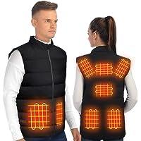 ISOPHO Chaleco Calefactable, Chaleco Termico electrico Chaleco plumas hombres y mujeres, chaquetas con calefaccion…