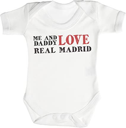 Cadeaux de b/éb/é 0-3 Mois Blanc I Love My Daddy Body b/éb/é TRS