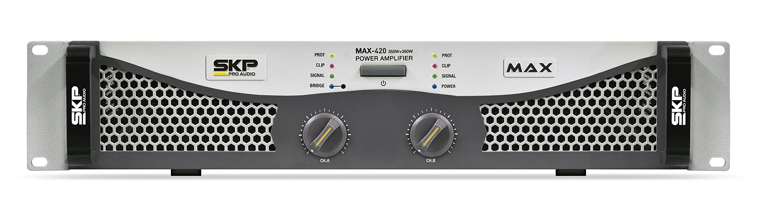 SKP Pro Audio Max-420 Stereo Output RMS Power 135 W Plus 135 W Powered Amplifier