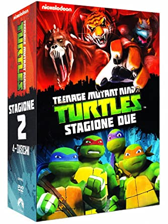 Teenage Mutant Ninja Turtles - Stagione 02 4 Dvd Italia ...