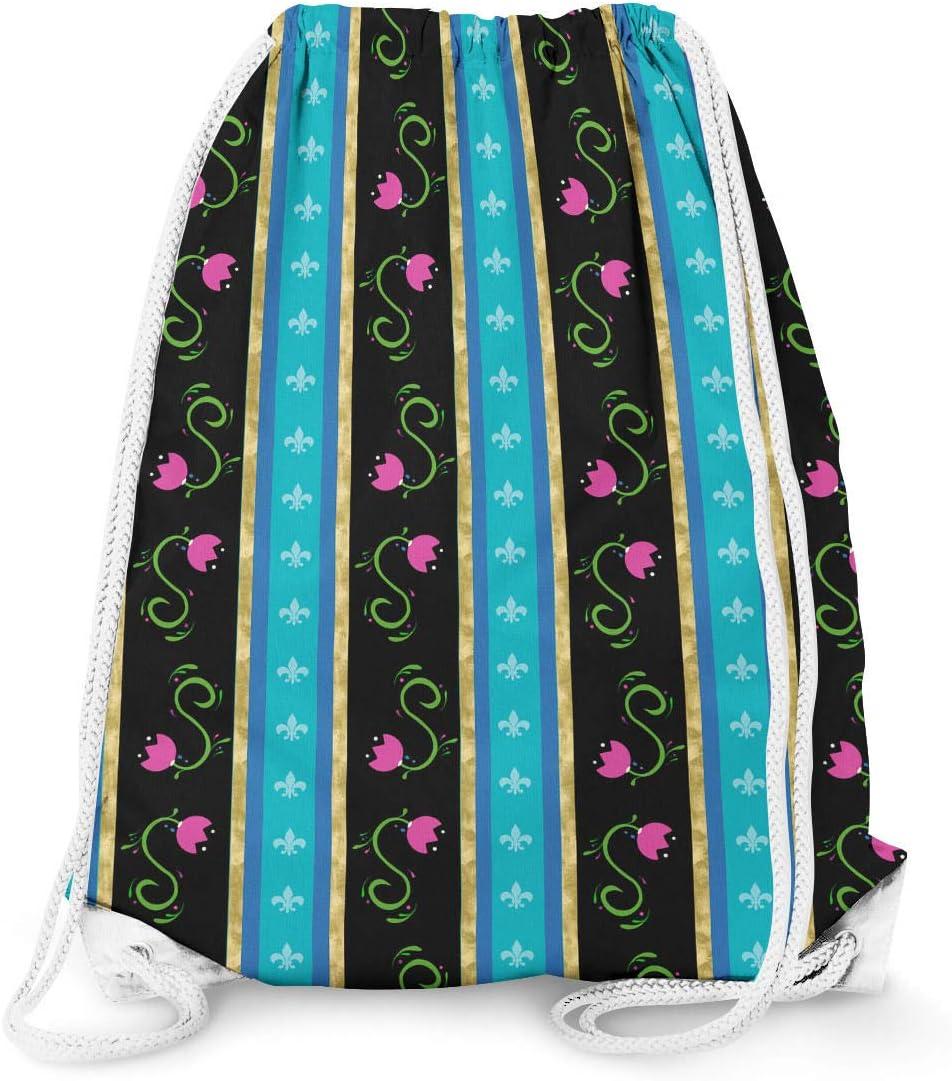 11.7 x 14.6 Small Ice Princess Anna Drawstring Bag