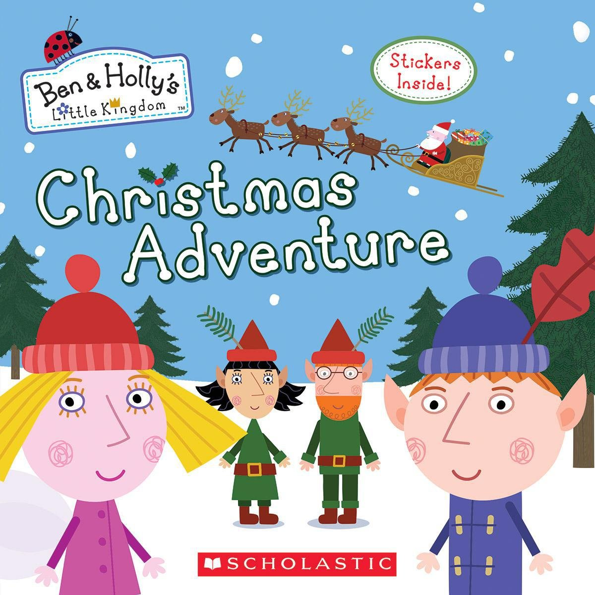 christmas adventure ben hollys little kingdom eone 9781338228137 amazoncom books - Ben And Holly Christmas