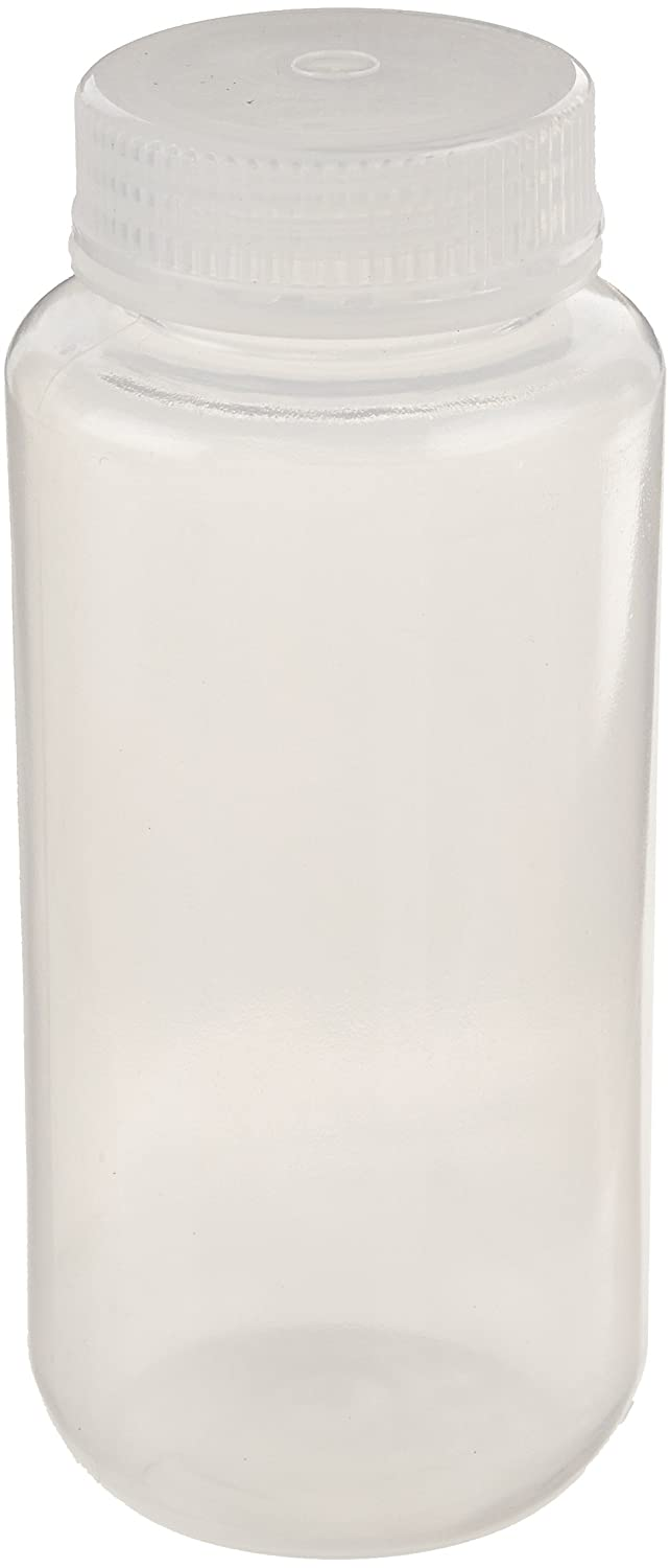 United Scientific 33309 Polypropylene Wide Mouth Reagent Bottles, 500ml Capacity (Pack of 12) Thomas Scientific