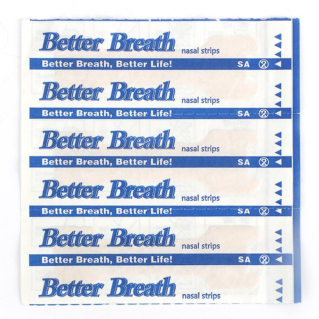 30-300 Count Nasal Strips Better Breath Anti Snoring (66mm*19mm) (300)