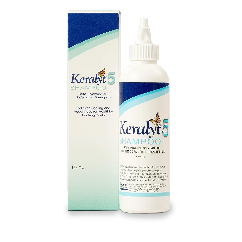 Keralyt 5 Shampoo – Beta-Hydroxyacid Exfoliating Shampoo for Scalp Scaling - 177 ml Bottle