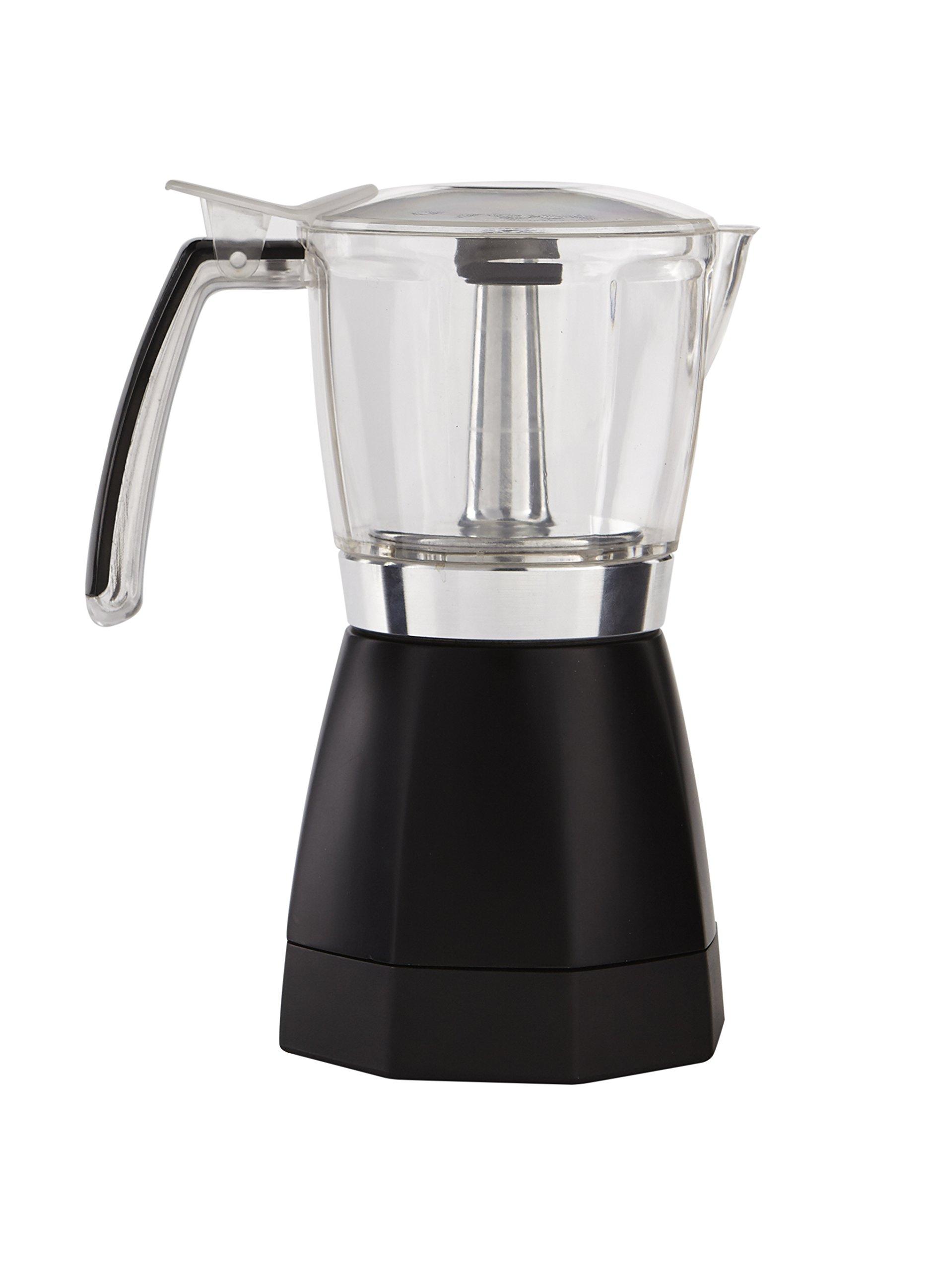 IMUSA USA B120-60006 Electric Coffee/Moka Maker 3-6-Cup, Black - Top 10 Appliances