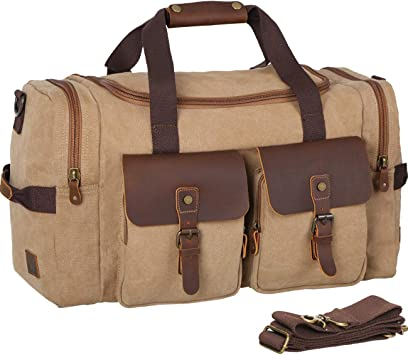 Gym Bag with IM Neither Print Travel Weekender Duffel Bag for Man and Woman