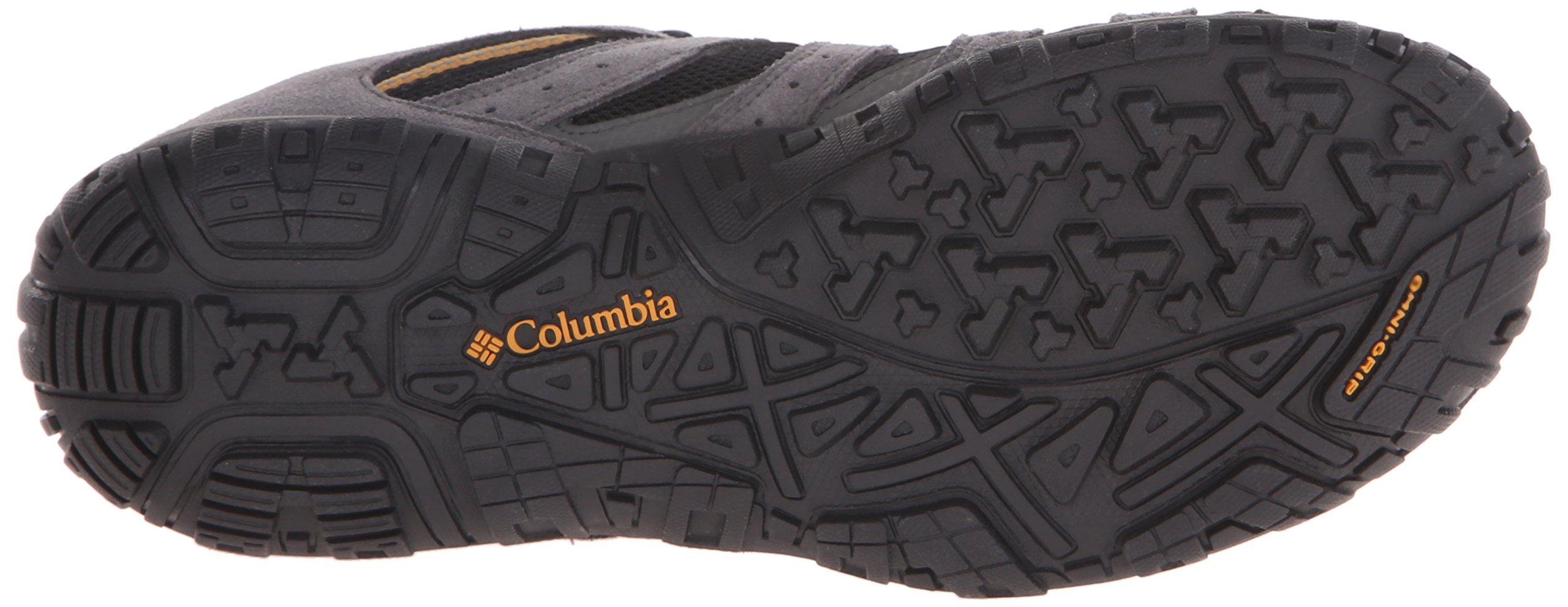 Columbia Men's Redmond Waterproof Hiking Shoe Black, Squash 7.5 D US by Columbia (Image #3)