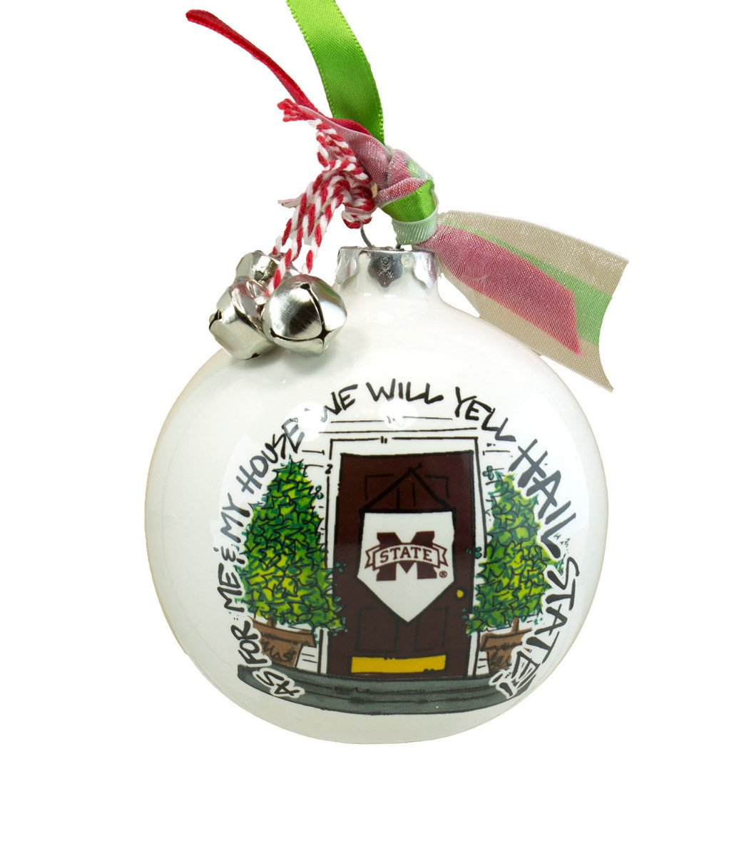 """As For Me And My House"" Holiday Ornament (Alabama Crimson Tide) Magnolia Lane"